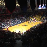 Picture from Temple vs La Salle at the Palestra on December 6, 2014